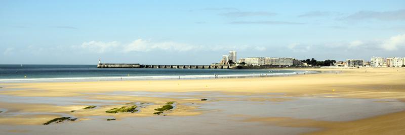 Grande plage des Sables d'Olonne - Copyright Aurélien Curtet